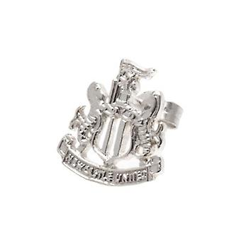 Newcastle United Sterling Silver Stud Earring