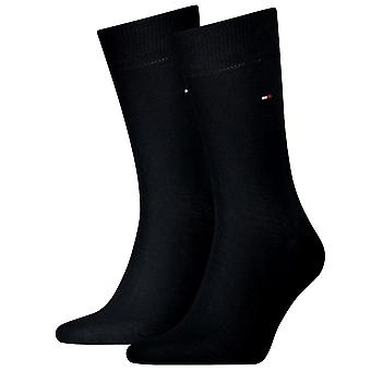 Tommy Hilfiger 2 Pack Classic Sock - Navy