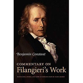 Commentaire d'ouvrage de Filangieri
