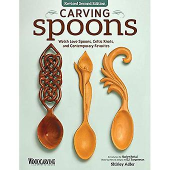 Carving Spoons: Welsh Love Spoons, Celtic Knots, and Contemporary Favorites
