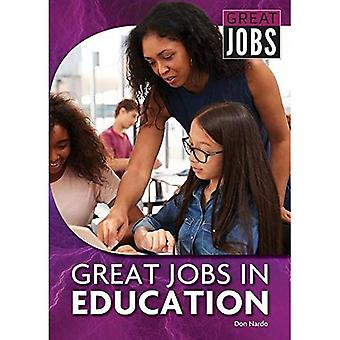 Great Jobs in Education (Great Jobs for ... Majors� (Paperback))