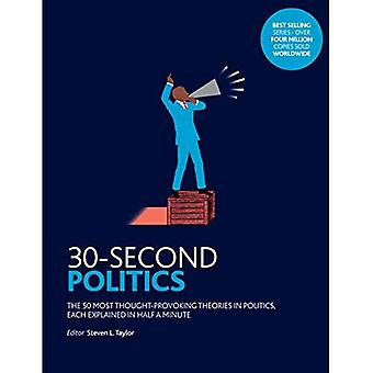30-Second Politics: The 50 Most Thought-provoking Theories in Politics (30-Second)