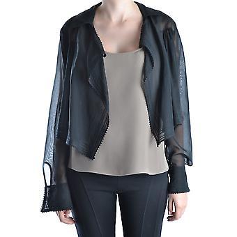 Gianfranco Ferré Black Cotton Outerwear Jacket