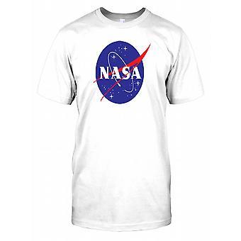 NASA Logo Standard Mens T Shirt