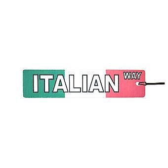 Italian Way Street Sign Car Air Freshener