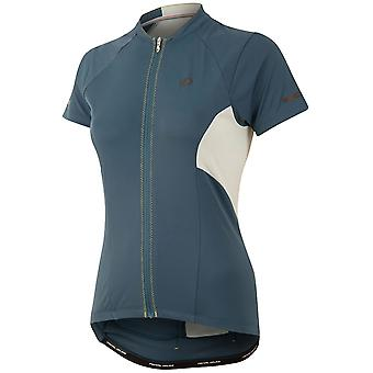 Pearl Izumi Blue Steel Elite Escape Womens Short Sleeved Cycling Jersey