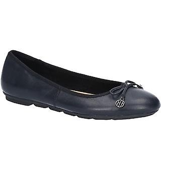 Hush Puppies Womens/Ladies Abby Bow Leather Ballet Shoe
