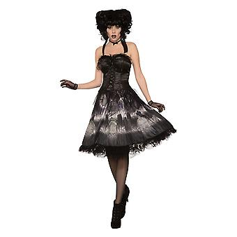 Bristol Novelty Womens/Ladies Cemetery Doll Dress