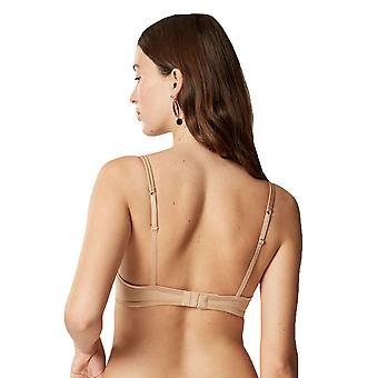 Maison Lejaby 5535M-389 Women's Nuage Pur Nude Non-Padded Underwired Demi Cup Bra