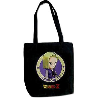 Tote Bag - Dragon Ball Z - New SD Android 18 Toy Licensed ge82474