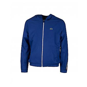 Lacoste Sport Lacoste Sport Signature Bands Bicolour Sweat Jacket