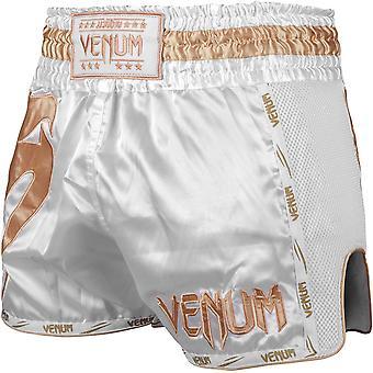 Venum Giant Muay Thai Shorts - weiß/Gold