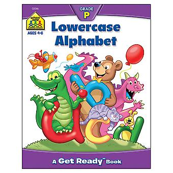 Preschool Workbooks 32 Pages Lowercase Alphabet Szpresch 02066