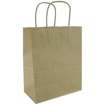 Tinted Kraft Bags Medium 7 3 4