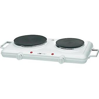 Twin hob with manual temperature settings Clatronic DKP 3583 271699