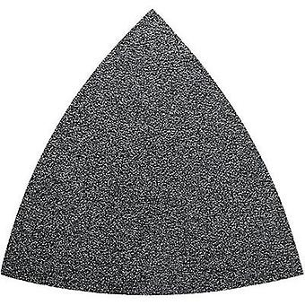 Delta grinder blade set Hook-and-loop-backed, unperforated Grit size 60, 80, 120, 180, 240