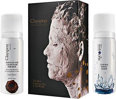 Clayspray Red Clay & Cacao Smoothing Duo