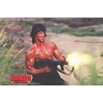 Rambo First Blood Part 2 Filmplakat (17 x 11)