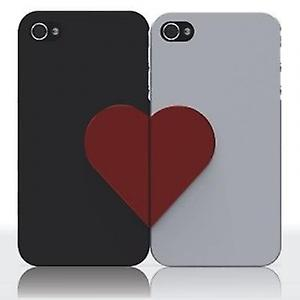 Ozaki iCoat lover forever cover case black/white iPhone 4 / iPhone 4S
