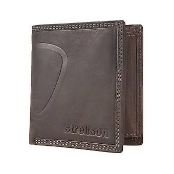Strellson mens wallet plånbok Brown 1518
