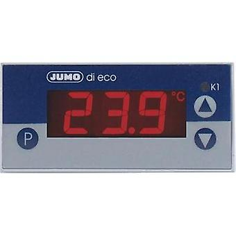 Temperature controller Jumo di eco Pt100, Pt1000, KTY2X-6 -200 up to +600 °C 10 A relay (L x W x H) 56 x 76 x 36 mm