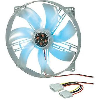 PC fan Akasa AK-F1825SM-CB (W x H x D) 180 x 180 x 25 mm