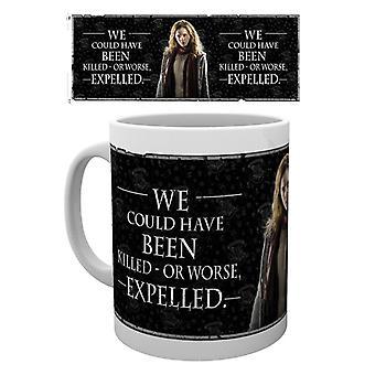 Harry Potter Hermione citar taza