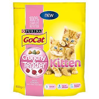 Go-kat sprøde og møre killing 800g (pakke med 4)