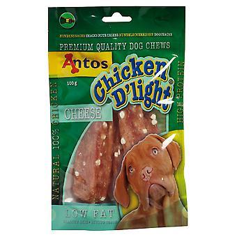 Antos kylling D'light ost 100g (pakke med 10)