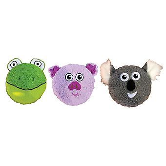 Good Boy Disc O' Squeaks Flyer Toys 18cm (Pack of 6)