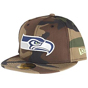 New era 59Fifty Cap - NFL Seattle Seahawks wood camo