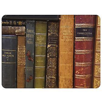 Dværg Arkiv bøger dækkeservietter sæt med 6
