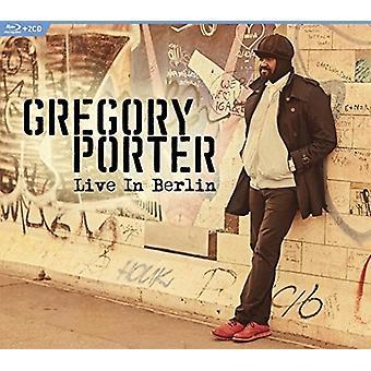 Gregory Porter - Live in importazione USA Berlino [Blu-ray]