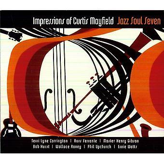 Jazz sjæl syv - indtryk af Curtis Mayfield [CD] USA import