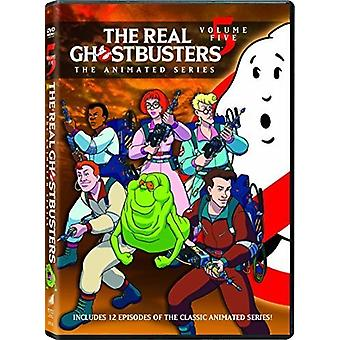 Real Ghostbusters 5 [DVD] USA import