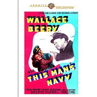 Denne mands Navy [DVD] USA importerer