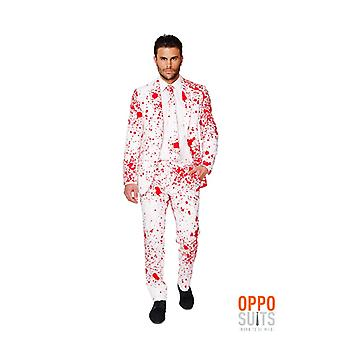 Blodige Harry Halloween Opposuit slimline Premium 3-piece suit