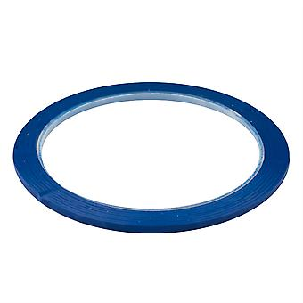 TRIXES 50m Self Adhesive Whiteboard Grid Gridding Marking Tape Blue