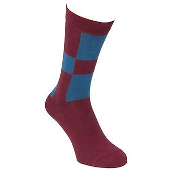 40 Colori Racing Socks - Bordeaux/blå