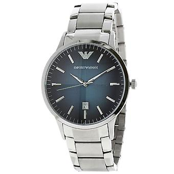 Emporio Armani AR2472 Stainless Steel Blue Degrade Date Window Dial Watch