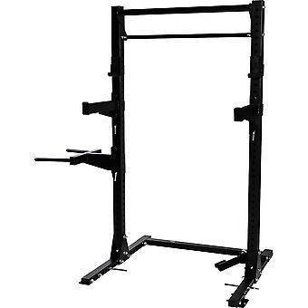 Multifunctional Squat Rack in schwarz