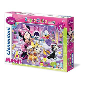 Clementoni Puzzle 24 P.maxi Minnie And Her Dog - Mickey