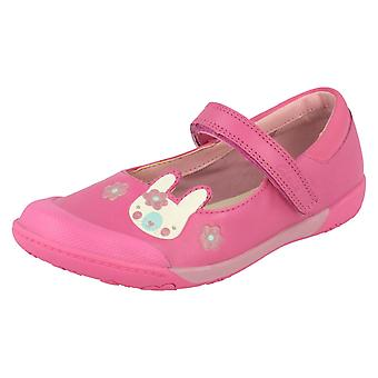 Girls Clarks Casual Shoes Nibbles Nice