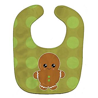 Carolines Treasures  BB6816BIB Christmas Gingerbread Man Baby Bib