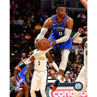 Russell Westbrook 2017-18 akcji Photo Print