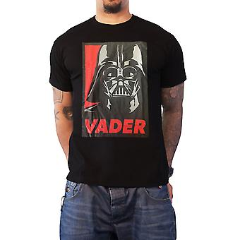 Star Wars T Shirt Darth Vader Poster Join us or Die new Official Mens Black
