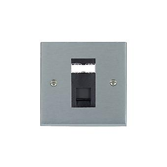 Hamilton Litestat Cheriton Victorian Satin Chrome 1g RJ12 Outlet-Unshield BL