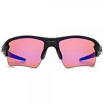 Oakley Flak 2.0 XL Sunglasses In Polished Black Prizm Trail