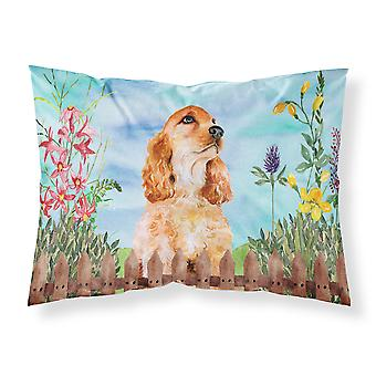 Cocker Spaniel Spring Fabric Standard Pillowcase