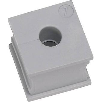Cable grommet slotted Terminal Ø (max.) 15 mm Elastomer